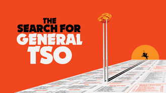 Netflix box art for The Search for General Tso