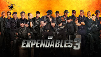 Netflix box art for The Expendables 3