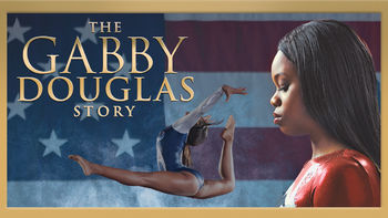 Netflix box art for The Gabby Douglas Story