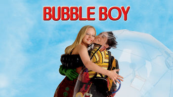Netflix box art for Bubble Boy