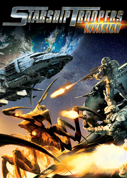 Starship Troopers: Invasion Netflix UK (United Kingdom)
