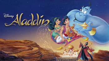 Netflix box art for Aladdin