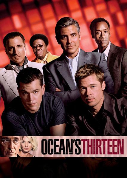 Ocean's Thirteen Netflix BR (Brazil)