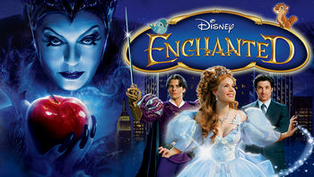 Netflix box art for Enchanted