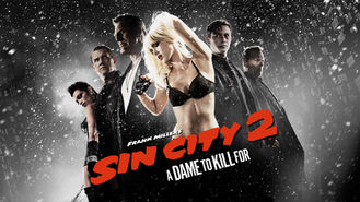 Netflix box art for Sin City: A Dame to Kill For