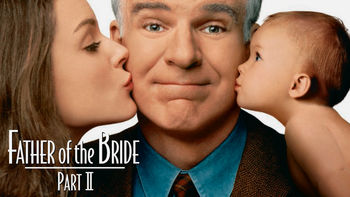 Netflix box art for Father of the Bride 2