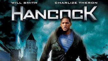 Netflix box art for Hancock