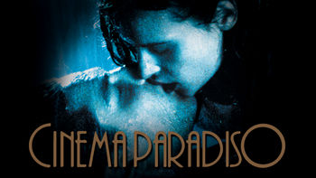 Netflix box art for Cinema Paradiso
