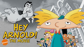 Netflix box art for Hey Arnold! The Movie