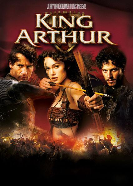King Arthur Netflix BR (Brazil)