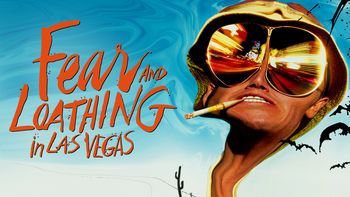Netflix box art for Fear and Loathing in Las Vegas