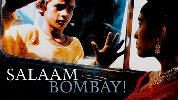 Netflix box art for Salaam Bombay!