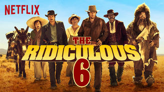 Netflix box art for The Ridiculous 6