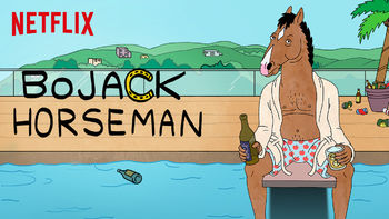 Netflix box art for BoJack Horseman - Season 1