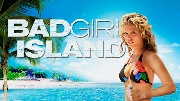 Netflix box art for Bad Girl Island