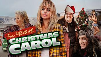 Netflix Box Art for All American Christmas Carol