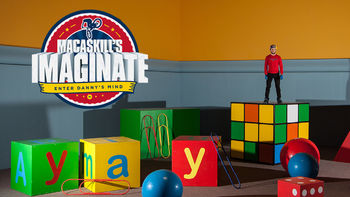 Netflix box art for Danny MacAskill's Imaginate