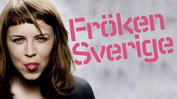 Netflix box art for Fröken Sverige