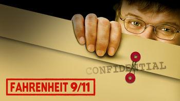 Netflix box art for Fahrenheit 9/11