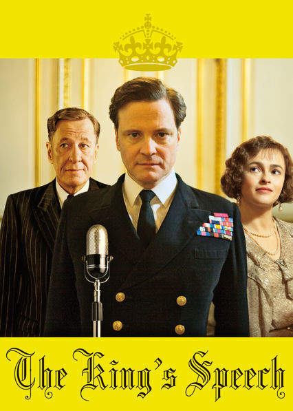 The King's Speech Netflix UK (United Kingdom)