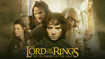 Netflix box art for Lord of the Rings: Fellowship of the Ring