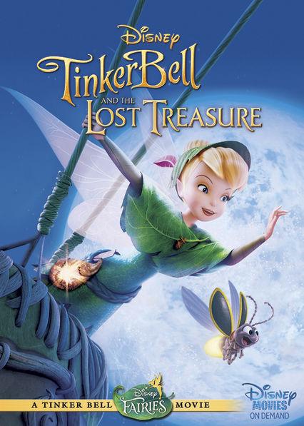 Tinker Bell and the Lost Treasure Netflix AU (Australia)