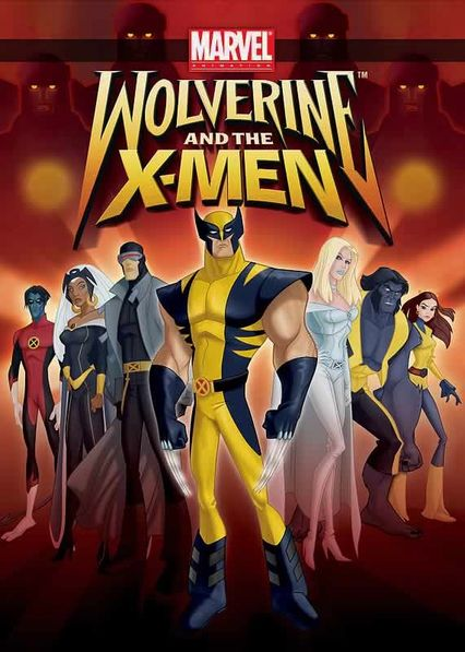 Wolverine and the X-Men Netflix BR (Brazil)