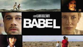 Netflix box art for Babel