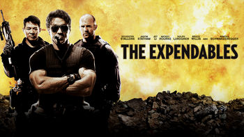 Netflix box art for The Expendables