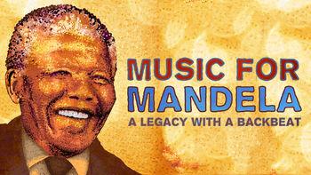 Netflix box art for Music For Mandela