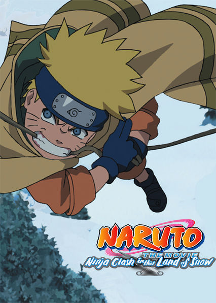 Naruto the Movie: Ninja Clash in the Land of Snow Netflix PR (Puerto Rico)