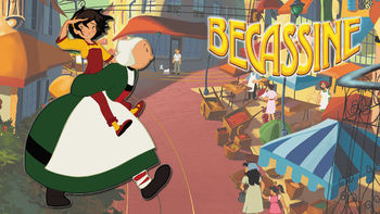 Netflix box art for Becassine: The Wackiest Nanny Ever