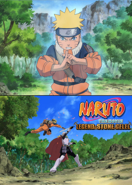 Naruto the Movie 2: Legend of the Stone of Gelel Netflix PR (Puerto Rico)