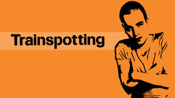 Netflix box art for Trainspotting