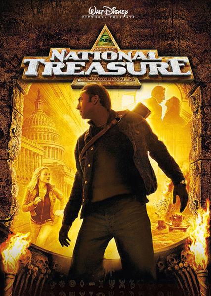 National Treasure Netflix AR (Argentina)