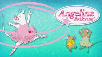 Netflix box art for Angelina Ballerina - Season 4