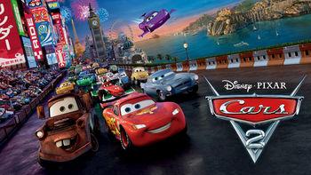 Netflix box art for Cars 2