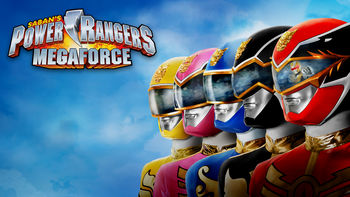 Netflix box art for Power Rangers: Megaforce - Season 1