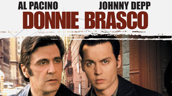Netflix box art for Donnie Brasco