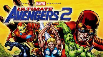 Netflix box art for Ultimate Avengers 2