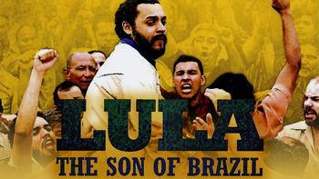 Netflix box art for Lula, the Son of Brazil