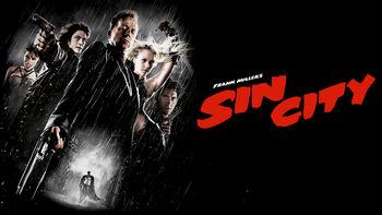Netflix box art for Sin City
