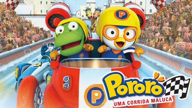 Pororo - Uma Corrida Maluca | filmes-netflix.blogspot.com