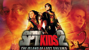 Netflix box art for Spy Kids 2: The Island of Lost Dreams
