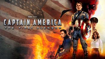 Netflix box art for Captain America: The First Avenger