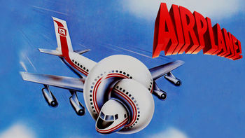Netflix box art for Airplane!