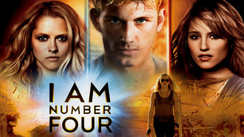 Netflix box art for I Am Number Four