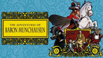 Netflix box art for The Adventures of Baron Munchausen