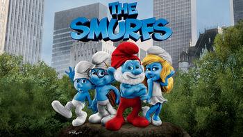 Netflix box art for The Smurfs