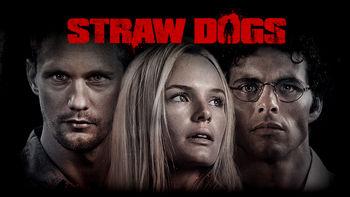 Netflix box art for Straw Dogs